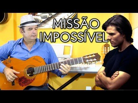 Missão Impossível Violão Solo  Mission Impossible Theme Fingerstyle Guitar Cover - Júlio Hatchwell