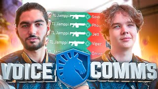 3-Second Jett Ace In Masters ?! | TL vs Vikings Voice Comms
