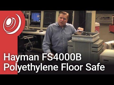 Hayman FS4000B Polyethylene Floor Safe - YouTube