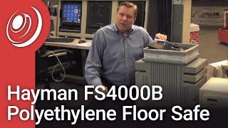 Hayman FS4000B Polyethylene Floor Safe