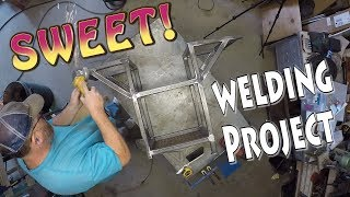 Cart Welding Project for a Sweet Machine