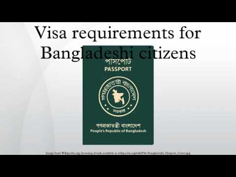 Visa requirements for Bangladeshi citizens