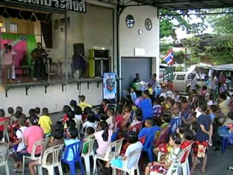 Christmas Outreach at Slum Community in Samut Prakan