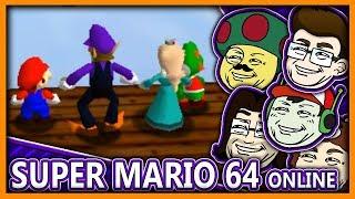 Moggy & die Boys spielen Mario 64 Online durch!