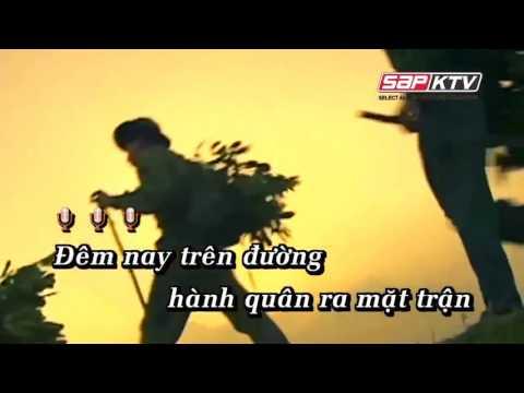 Karaoke - Bác đang cùng chúng cháu hành quân - [Beat chuẩn] - Yeucahat.mobi