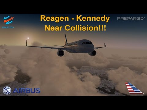 [P3Dv3.4] NEAR COLLISION TAKEOFF!! (VATSIM) | Reagen Nationa