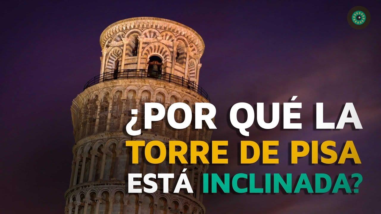 foto de ¿Por qué está inclinada la torre de Pisa? YouTube