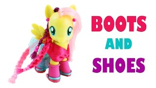 How To Make My Little Pony  Boots And Shoes - Easy Doll Crafts