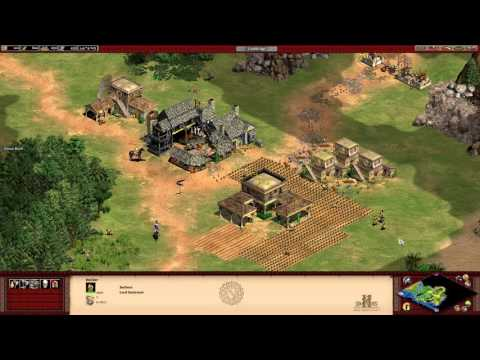 Age of Empires 2 HD: The African Kingdoms - 01 - Tariq ibn Ziyad: The Battle of Guadalete Gameplay