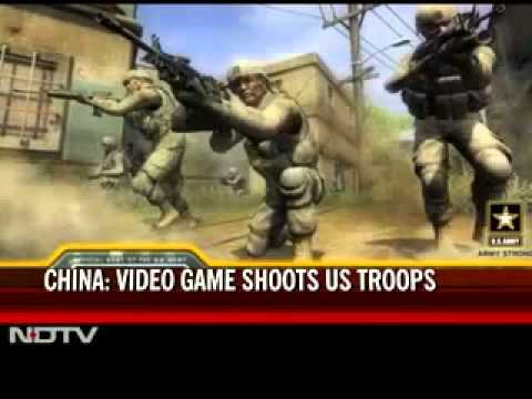 The Chinese Army Trains With Video Games, & Recruits Too (Like US!)