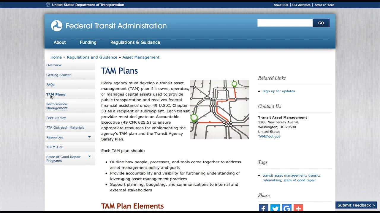 TAM Website Video Demonstration