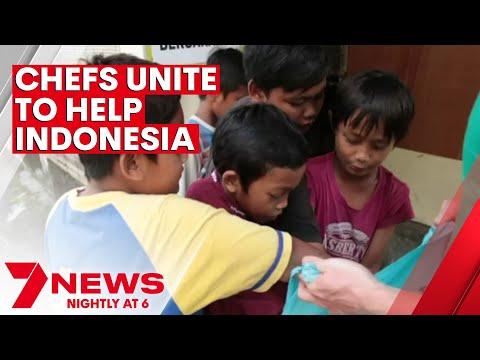 Australian chefs unite to help Indonesia   7NEWS