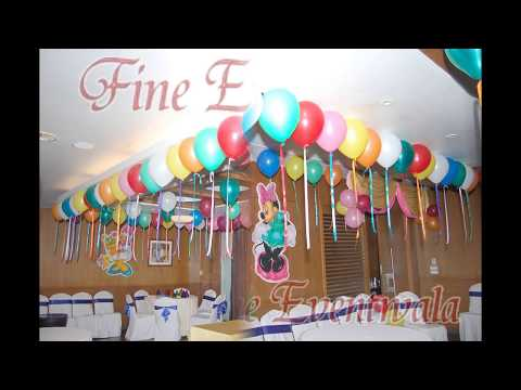 Birthday balloon decorating services providers in pune for Balloon decoration in pune