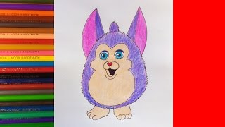 How to draw Talking Tattletail