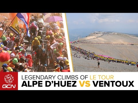 Alpe D'Huez Vs Mont Ventoux: Which Is The Toughest, Most Legendary Climb Of Le Tour De France?
