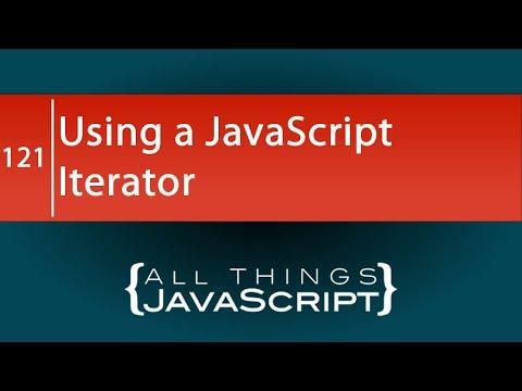 Using a JavaScript Iterator thumbnail