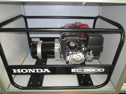 Бензинов монофазен генератор HONDA EC3600K1 #cmIMGo4Gqog