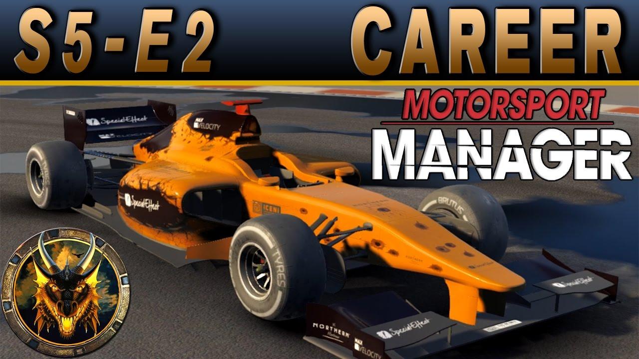 motorsport manager pc career mode s5e2 push for podium youtube. Black Bedroom Furniture Sets. Home Design Ideas