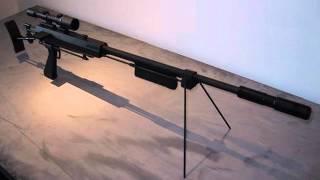 Best Modern Silenced Sniper Rifle Sound Effect Single Shot