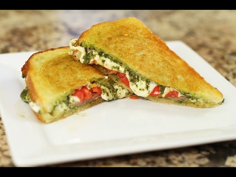 Grilled Caprese Sandwich -All Melty And Delicious by Rockin Robin