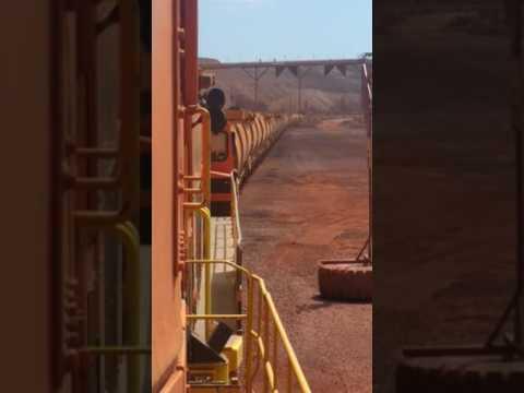 Train loading Whyalla South Australia