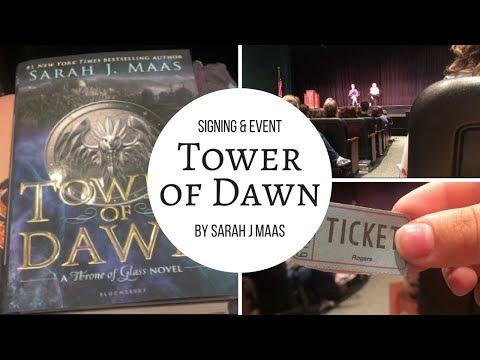 sarah j maas book release event // vlog