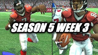 """GO MIKE VICK"" NUMBER 2  - MADDEN 07 FALCONS FRANCHISE VS GIANTS - S5W3"