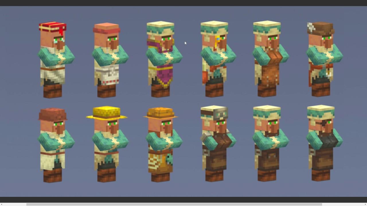 Minecraft 11.111 Update: NEW Villagers & Villages