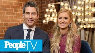 arie luyendyk jr and lauren burnham face backlash over pregnancy april fools day joke peopletv