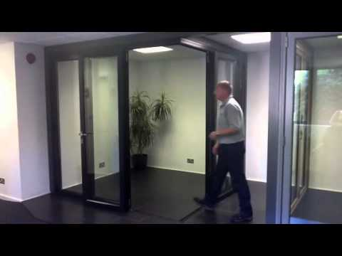 Origin Bifold Doors Operation Of A 90 Degree Moving