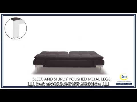 Serta Bonded Leather Convertible Sofa Zuo Modern Circus Dream Valencia Java Bed From The Futon Shop