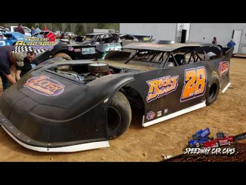 #28 Silas Hamm - 602 Sportsman - 3-23-19 North Alabama Speedway - In Car Camera
