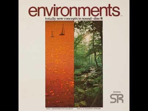 Environments 8 - Wood-Masted Sailboat