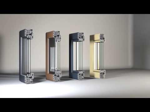 FIN Project di Finstral - La nuova finestra in alluminio..da Euroserramenti
