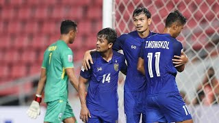 Timor-Leste vs Thailand (AFF Suzuki Cup 2018: Group Stage Extended Highlights)