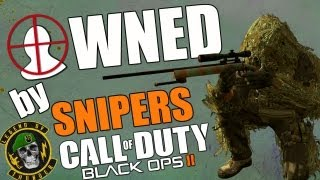SNIPING MELTDOWN! - COD BO2 Snipers Crying Over Nerf - Call of Duty Black Ops 2 Multiplayer Gameplay