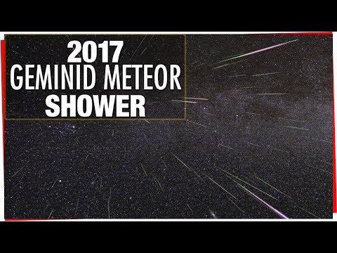 2017 Geminid Meteor Shower