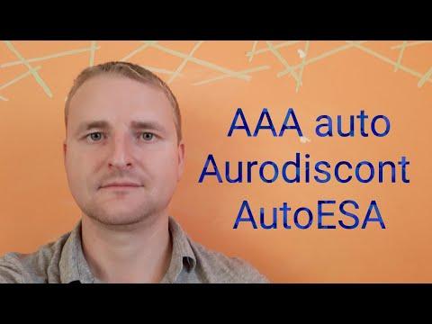 AAA Auto, Autodiscont, AutoESA