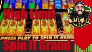 Spin It Grand High Limit Bonuses