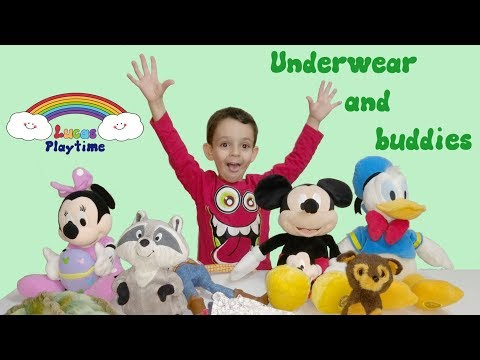 Underwear And Buddies - Wearing Mickey, Minnie, Donald Duck, Woody, And Other Friends
