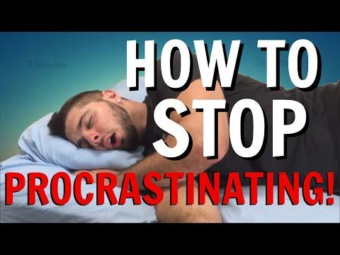 How To Stop Procrastinating! (WHY We Procrastinate and HOW To Overcome Procrastination)