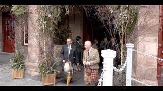 HRH The Duke & Duchess of Rothesay attend the official opening of the Fife Arms in Braemar 2019
