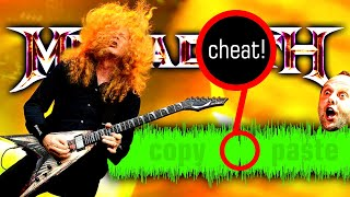 5 things you might NOT notice in Megadeth songs ☢ (...cool and not so...)