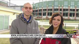 Cartilage Repair | Fox 11 Fieldhouse | Aurora BayCare Orthopedics