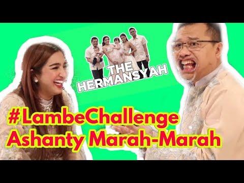 THE HERMANSYAH - LAMBE CHALLENGE | ASHANTY: TERNYATA INI WAJAH ASLI MAS ANANG