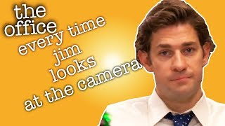 Every Time Jim Looks At The Camera  - The Office US