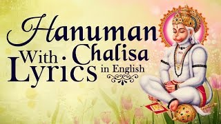 Hanuman Chalisa With Lyrics in English By Suresh Wadkar ( Full Song )
