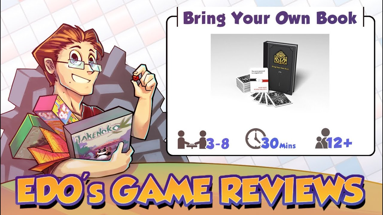 Edo S Bring Your Own Book Review Youtube