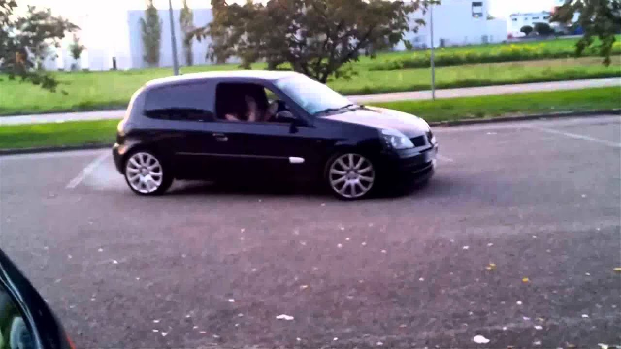 renault clio 1 6 16v tuning youtube. Black Bedroom Furniture Sets. Home Design Ideas