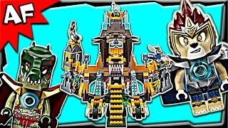 lego chima lion chi temple 70010 stop motion build review